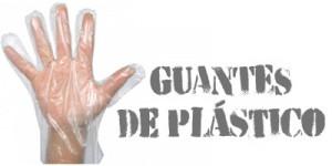 Guantes de plástico