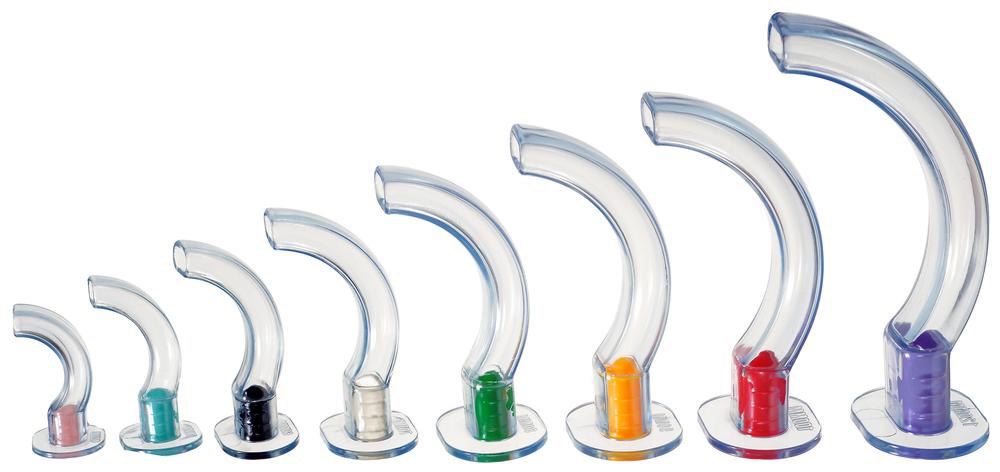 tubos guedel transparentes